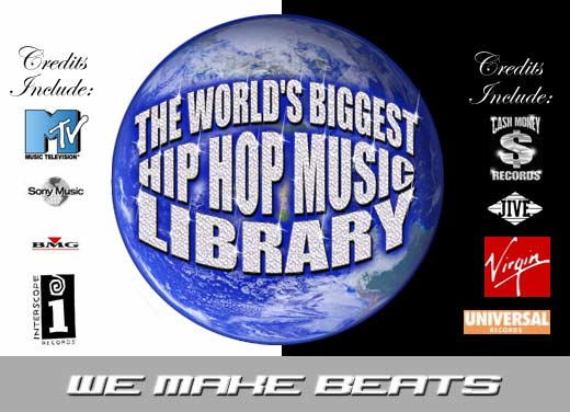 The Worlds Biggest Hip Hop Beats & Instrumentals Library